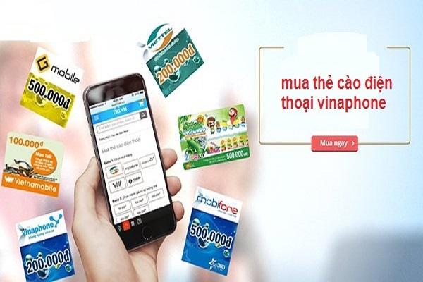 Cách mua thẻ cào vinaphone online nhanh chóng, đơn giản nhất