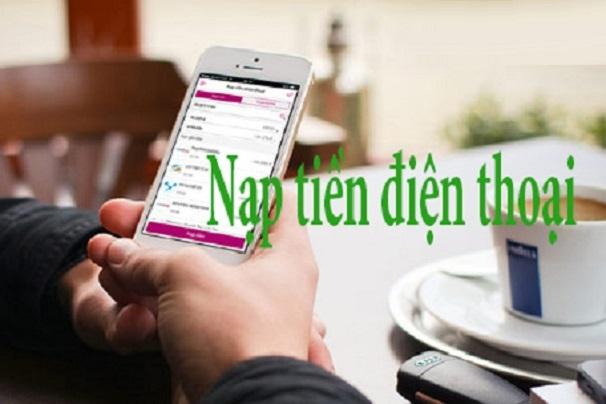 nạp tiền điện thoại online chiết khấu cao