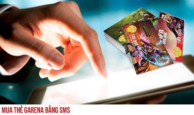 mua thẻ garena bằng sms Viettel