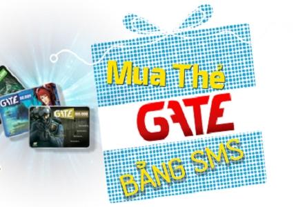mua thẻ gate qua SMS Viettel