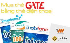 mua thẻ gate bằng SMS Viettel