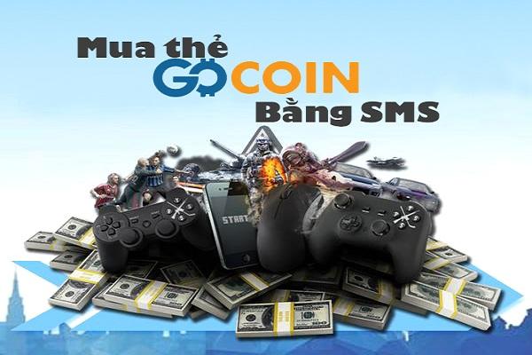 mua mã thẻ gocoin bằng sms mobifone, viettel, vinaphone