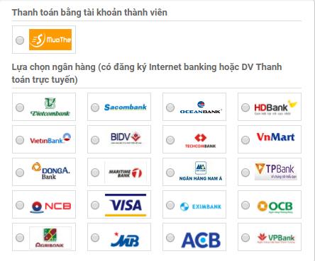 mua thẻ điện thoại Viettel online