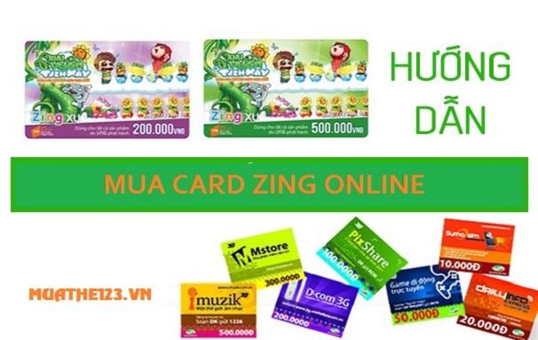 Hướng dẫn mua card vinagame online chiết khấu cao nhất