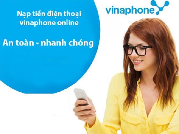 nạp tiền online vinaphone