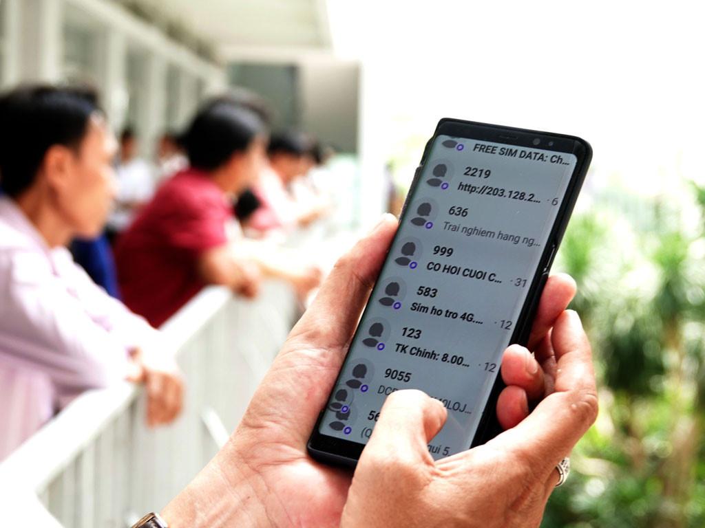 Cách chặn tin nhắn rác Vietnamobile