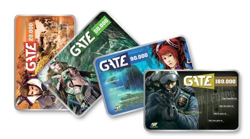 mua thẻ gate bằng tài khoản điện thoại