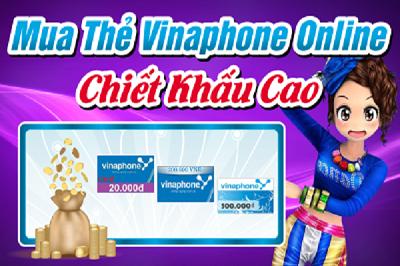 Hướng dẫn cách mua thẻ vina online nhanh nhất tại Muathe123.vn