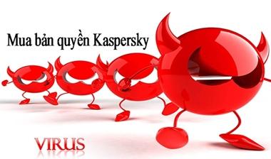 Mua bản quyền Kaspersky chiết khấu khủng, bạn đã thử chưa?