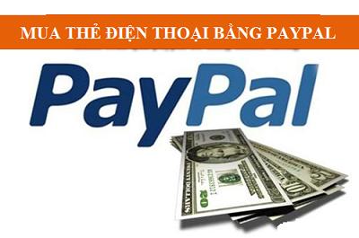 Cách mua thẻ cào bằng paypal siêu nhanh