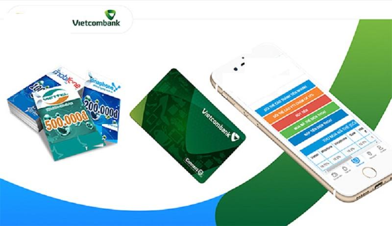 Cách đăng ký mua thẻ điện thoại bằng Internet banking Vietcombank