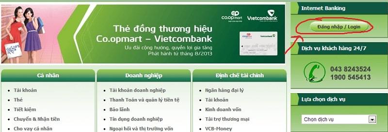 Lợi ích khi mua thẻ điện thoại thông qua Internet banking Vietcombank