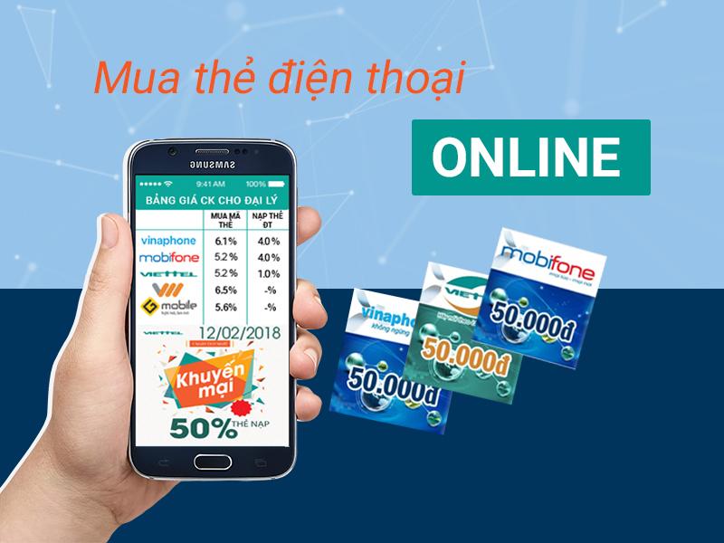 mua thẻ điện thoại bằng sms