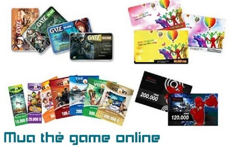 Những loại thẻ game đang hot tại thị trường nước ngoài