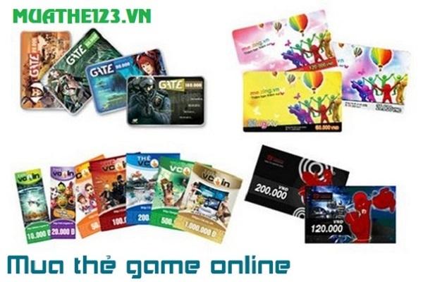 Địa chỉ mua thẻ game online trực tuyến uy tín
