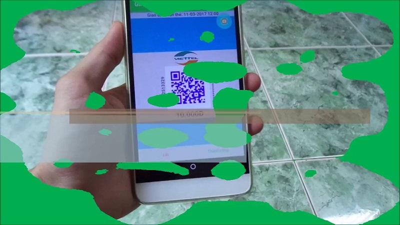 Nạp thẻ điện thoại bằng mã QR viettel bằng cách nào?
