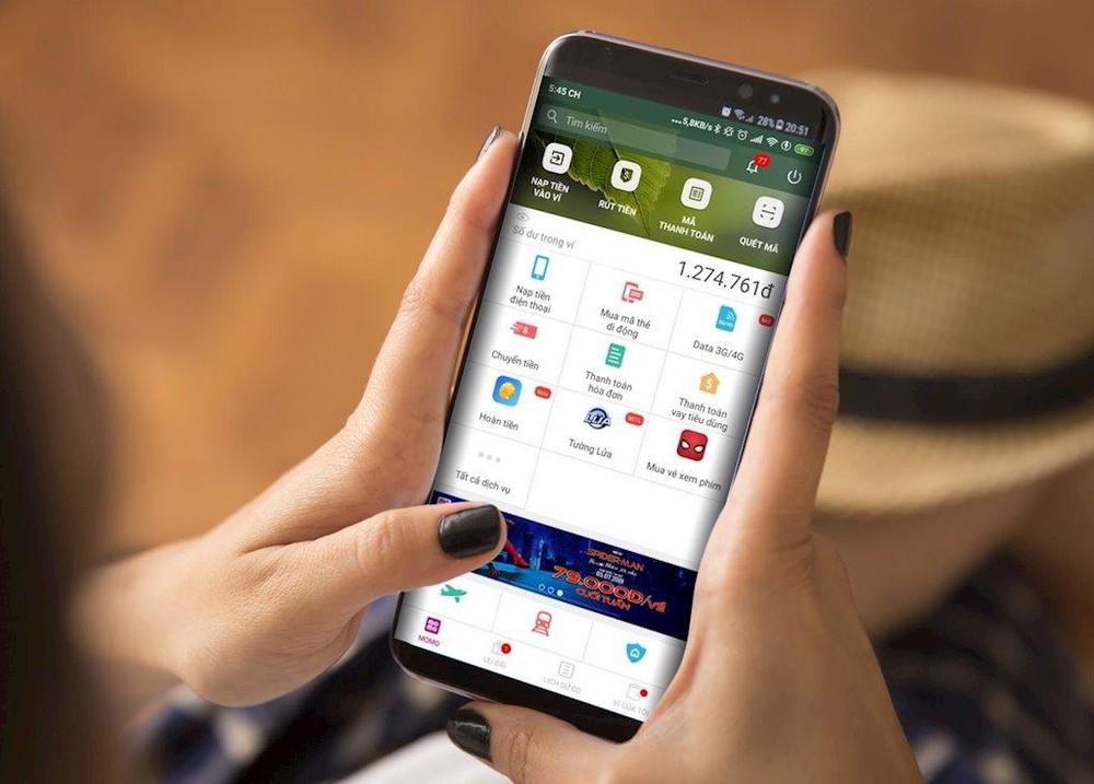 Nạp thẻ Vinaphone bằng ứng dụng MOMO