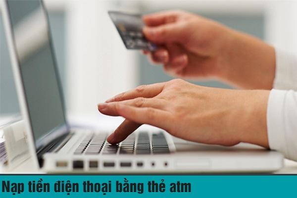 nạp tiền điện thoại qua ngân hàng