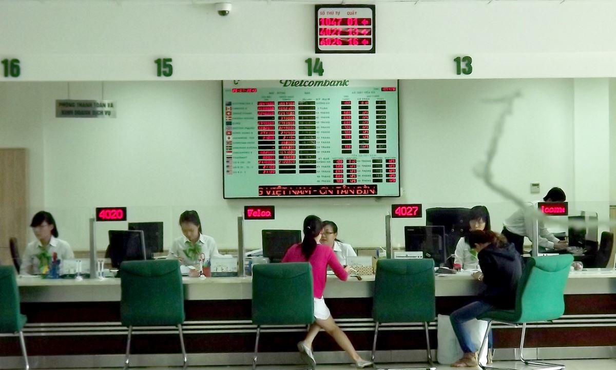 nạp tiền điện thoại từ Vietcombank