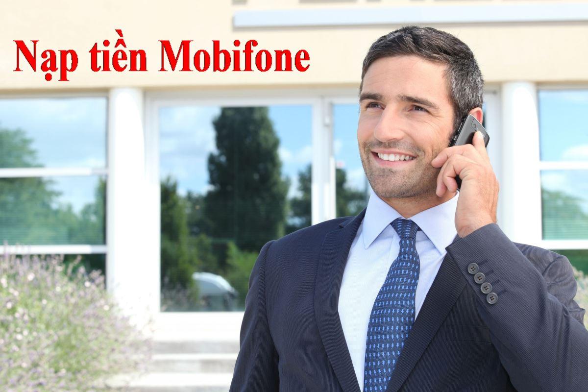 nạp tiền mobifone