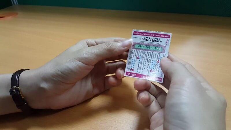 Cách mua thẻ cào Viettel giấy