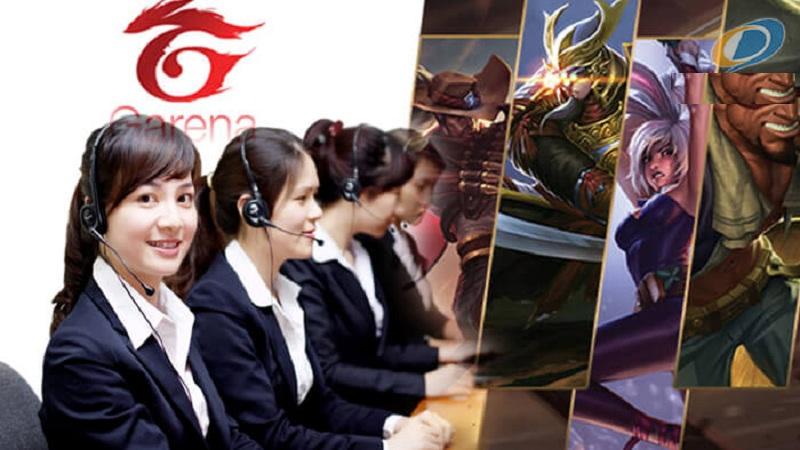 Tổng đài Garena - Hỗ trợ trực tuyến cho người chơi game